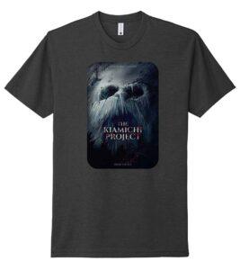 Kiamichi Project Movie Poster Tshirt-charcoal gray